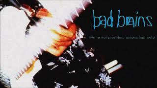 Bad Brains   Live At The Paradiso, Amsterdam, 28th May 1987