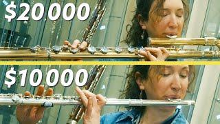 $10,000 Flute Vs $20,000 Flute