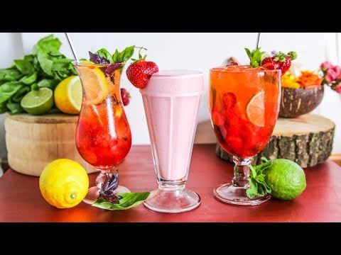 0 Milkshake de căpșuni în stil diner
