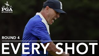 Brooks Koepka: Watch every shot he took in the final round of the 2019 PGA Championship