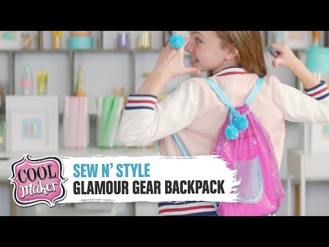 Download Cool Maker | Sew N' Style Machine Glamour Gear | Backpack HD Mp4 3GP Video and MP3