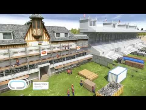 Le chantier du nouveau Longchamp dévoilé