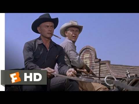 The Magnificent Seven (2/12) Movie CLIP - Standoff at the Cemetery (1960) HD