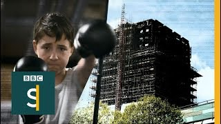 Boxing their way out of Grenfell grief - BBC Stories