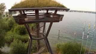 preview picture of video 'Drohne - Copter Seeburgpark Kreuzlingen von FlyingMOVIECOPTER Switzerland'