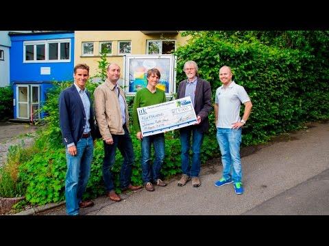 Spendenaktion der ITK Engineering: 5.000 Euro für das Johannes-Falk-Haus in Stuttgart