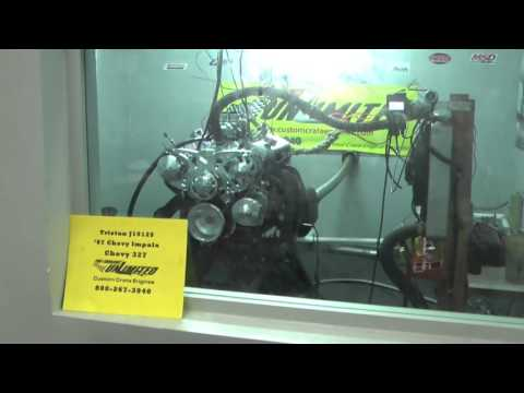 327 Chevy Turn-Key Crate Engine With 375 HP