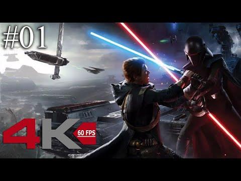 Star Wars Jedi: Fallen Order - PART 01 - 4K 60FPS (No Commentary)