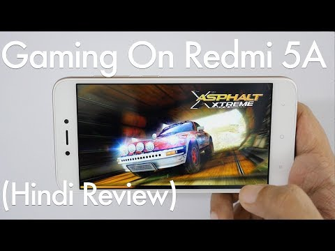 Redmi 5A Budget DeshKaSmartphone Ka Gaming Review (Hindi)
