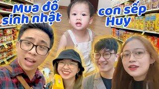 Vlog : 1 triệu đi mua đồ sinh nhật cho con sếp Huy (Lạc Lạc)