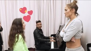 "Jennifer Lopez's 11year Old Daughter Emme Covers ""If I Ain't Got You"" 