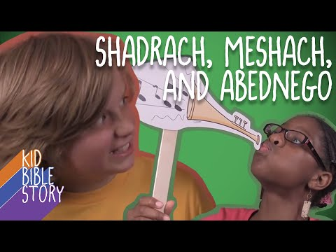 Kid Bible Story: Shadrach Meshach and Abednego