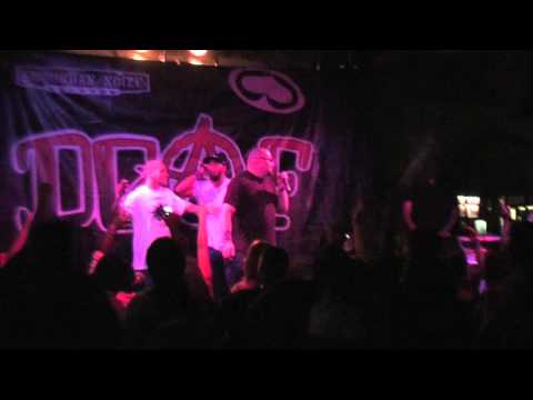 Mr. Grey with DJ Shyamroc Live on the Underground Rebels Tour w/ Potluck, Kung Fu Vampire, DGAF