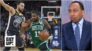 Fans want to see Kyrie Irving 'dance as if he is in an And-1 commercial' – Stephen A.   Get Up!
