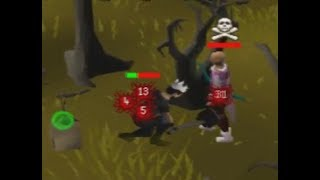 OSRS Anti Pking at Black Chins *Low Lvl Account* - Most