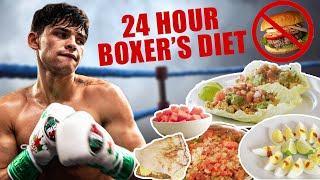 What A Professional Boxer Eats In A Day   Ryan Garcia Vlogs
