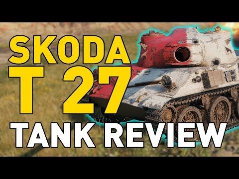 World of Tanks || Skoda T 27 - Tank Review