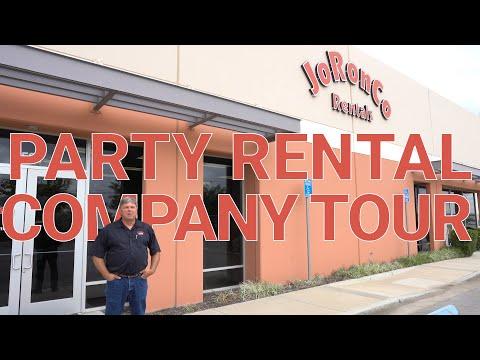, title : 'Party Rental Company Tour - JoRonCo Rentals