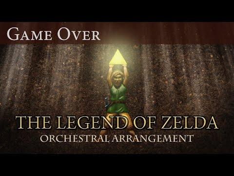 Versión orquestal del tema Game Over del Zelda de NES