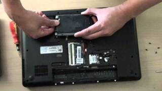 HP 630 Laptop: How to Remove and Replace Bad Hard Drive HDD