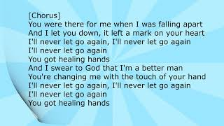 Healing Hands Lyrics  Conrad Sewell