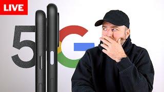 Google Pixel 5 Event Livestream thumbnail