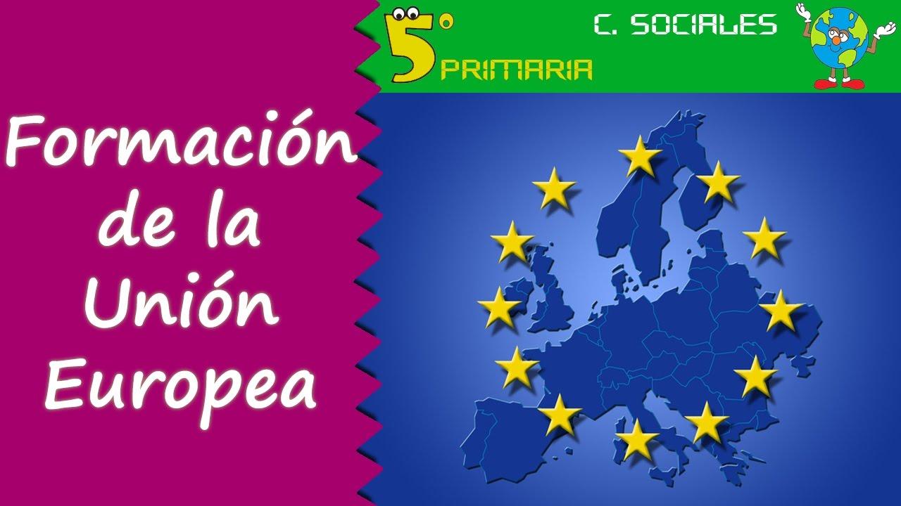 Formación de la Unión Europea. Sociales, 5º Primaria. Tema 5