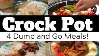 Dump & Go Crock Pot Meals   Quick and Easy Crock Pot Recipes