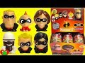 The Incredibles 2 Mashems Full Set