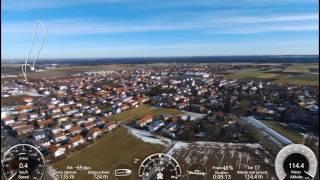 Parrot Bebop 2 FPV Drohne -- Flug Nr. 5