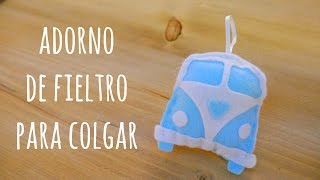 Adorno de fieltro para colgar. Mini tutorial Big Shot de Sizzix en Paperworld 2017