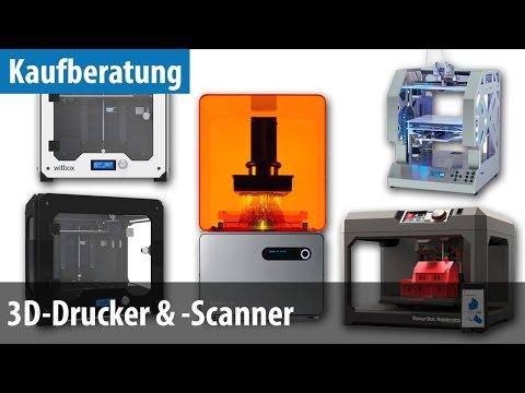 Kaufberatung: 3D-Drucker / -Scanner | deutsch / german