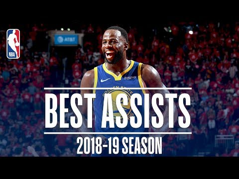 Draymond Green's Best Assists | 2018-19 Season | #NBAAssistWeek