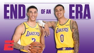 The Lonzo Ball-Kyle Kuzma partnership was fun while it lasted | NBA on ESPN