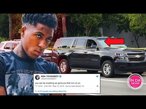 NBA Youngboy Gave His Location RIGHT Before Car was HIT in Miami