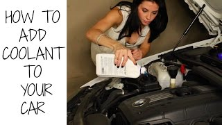 HOW TO ADD COOLANT OR ANTIFREEZE TO YOUR CAR - PENTOFROST NF