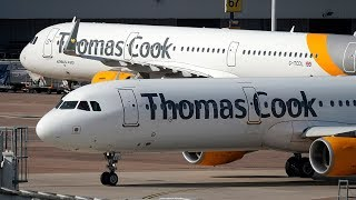 video: Thomas Cook collapse:  Travellers face queues and chaos as UK undertakes biggest repatriation effort since WW2