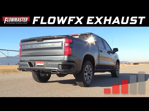 2019-20 GM Silverado/Sierra 1500 5.3L - FlowFX Cat-back Exhaust System 717894