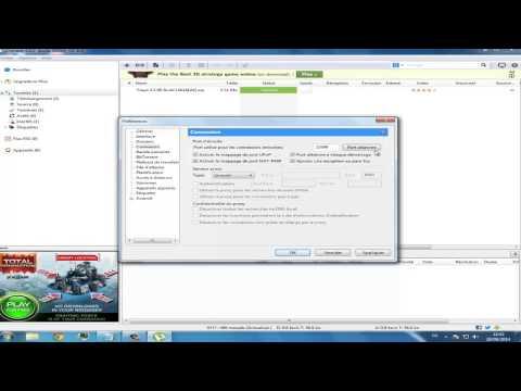 comment augmenter la vitesse de téléchargement avec utorrent