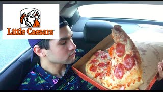 ME EATING LITTLE CEASARS MUKBANG - Video Youtube