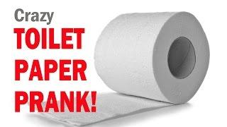 Crazy TOILET PAPER PRANK!