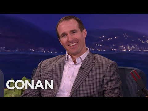 Drew Brees' Son Loves To Root Against Him – CONAN on TBS