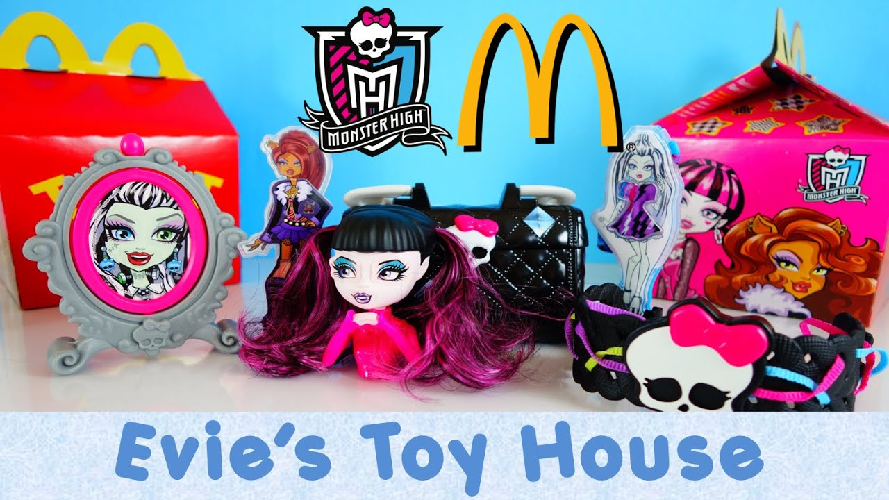2015 Monster High Dolls McDonalds Happy Meal Toys - COMPLETE SET| Evies Toy House