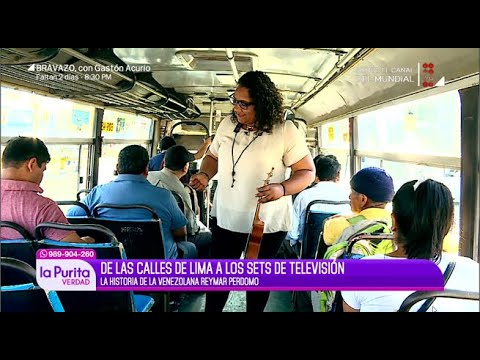 """Conoce a historia de la venezolana que pasó de la calle al set de """"Los Cuatro Finalistas"""""""