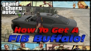 GTA 5 Where To Find Unmarked FIB Buffalo & FIB SUV! Unmarked FIB Vehicle Spawn Location!