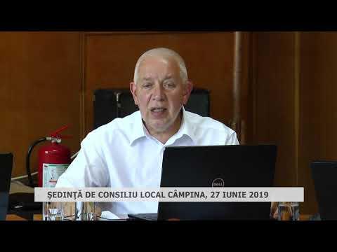 Şedinţă Consiliu Local Câmpina 27 06 2019