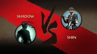 SHADOW FIGHT: SHADOW VS SHIN | BOSS | 1/6 | GAMEPLAY // WALKTHROUGH | 60FPS [HD]