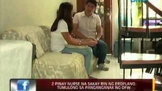 24oras: OFW na pauwi ng Pilipinas galing Dubai, napaanak sa eroplano