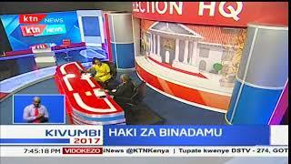 Haki za binadamu : Kagwiria Mbogori ,KNCHR  atoa kauli kuhusu mauaji baada ya uchaguzi