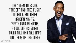 Will Smith - Arabian Nights (Lyrics)
